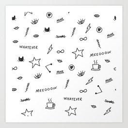 Things <3 Art Print