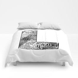 Cutout Letter L Comforters