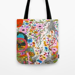 Wildflower Ghost Tote Bag