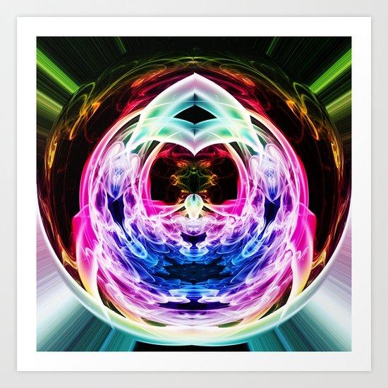 Crystal Ball 3 Art Print