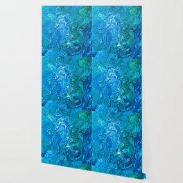 Elegant Crazy Lace Agate 2 - Blue Aqua Wallpaper
