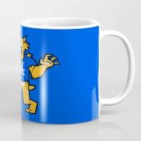 kentucky Mugs featuring Kentucky by jublin