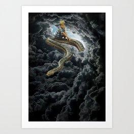 Divine Beings Art Print