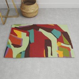 Never-ending Abstract Art Rug