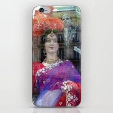Reflections in a Sari Shop Window, Paris iPhone & iPod Skin