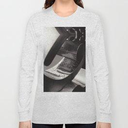 Droplets on Metal Long Sleeve T-shirt