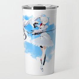 RWBY Minimalist (Weiss Schnee) Travel Mug