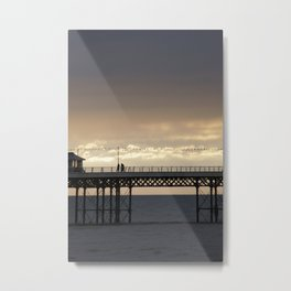 cromer pier Metal Print