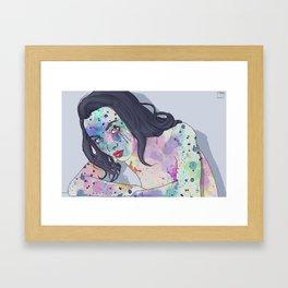 Body Paint 2 Framed Art Print