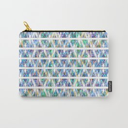 Geometric Glossy Pattern G331 Carry-All Pouch
