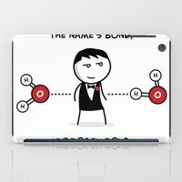 james bond iPad Cases featuring Hydrogen Bond by Victims of Circumsolar