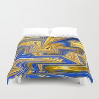 alchemy Duvet Covers featuring Attempted Alchemy by David  Gough