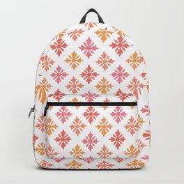 Autumnal Block Print Backpack