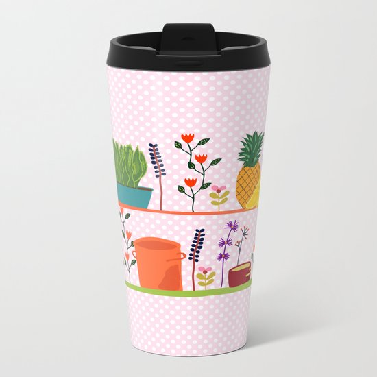 Happy shelf Metal Travel Mug