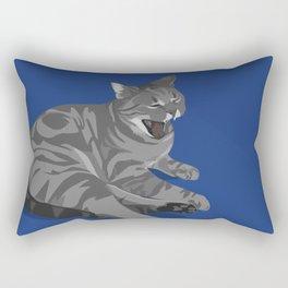 Apathy Killed the Cat Rectangular Pillow