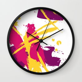 Fresh splash Wall Clock