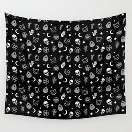 Witch pattern Wall Tapestry