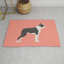 Boston Terrier Dog Rug