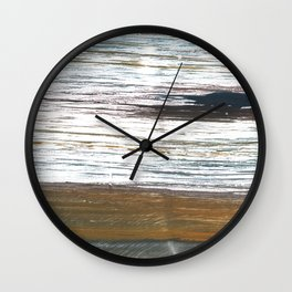 Mud Wall Clock