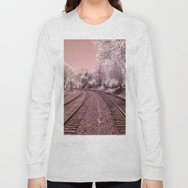 Train Track in Culpeper Long Sleeve T-shirt