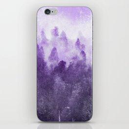 Ultra Violet Adventure Forest iPhone Skin
