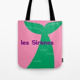 Les Sirènes Tote Bag