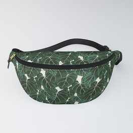 philodendron pot plant Fanny Pack
