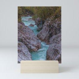 River Soca or Isonzo Mini Art Print