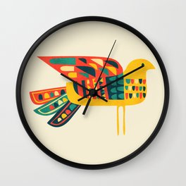 Century Bird Wall Clock