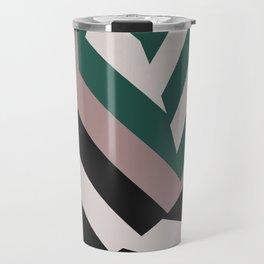 ASDIC/SONAR Dazzle Camouflage Graphic Design Travel Mug