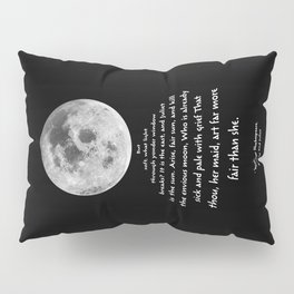 Moon Bridge Shakespeare Pillow Sham