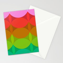 Stacked Circles No.2 Stationery Cards