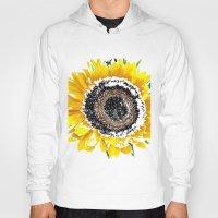 sunflower Hoodies featuring Sunflower by Regan's World