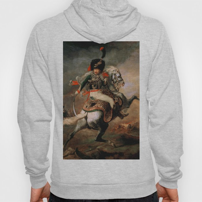 """Théodore Géricault """"Officer of the Chasseurs charging on horseback"""" Hoody"""