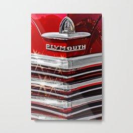 Plymouth Pride Metal Print