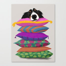 The Princess Ate the Pea Canvas Print