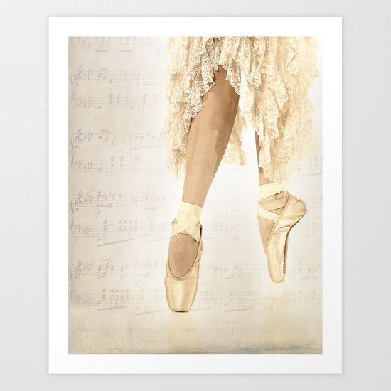 Just dance Art Print