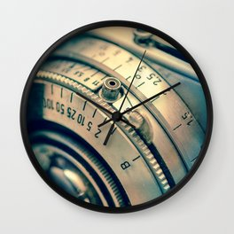 Photographic Camera Wall Clock