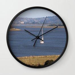 In too Port Launceston - Tasmania - Aus Wall Clock