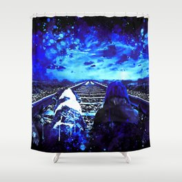 wanderlust wsbt Shower Curtain