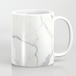 Carrara Marble Coffee Mug