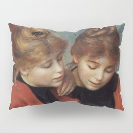 "Auguste Renoir ""The Two Sisters"" Pillow Sham"