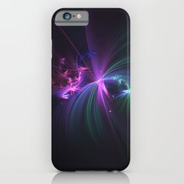 Fireworks Fractal iPhone Case