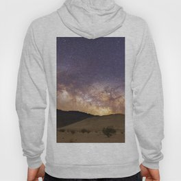 Dunes under the Milky Way Hoody
