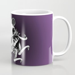 The Skull the Flowers and the Snail Coffee Mug