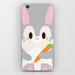 Bunny Block iPhone Skin