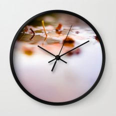 Leaf Reflect Wall Clock