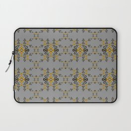 Shears in yellow game Laptop Sleeve