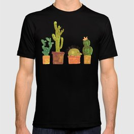 Hedgehog and Cactus (incognito) T-shirt