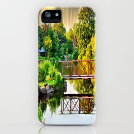 Nature's Reflections iPhone Case
